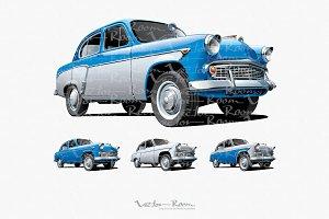 Vintage Soviet Car