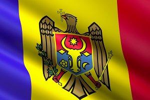 Maldova Flag