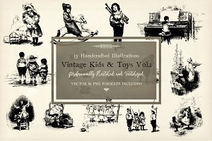 1896 Vintages Kids & Toys Vol.1