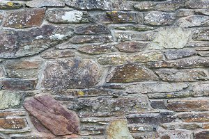 background of stone brick wall texture