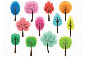 Cute Tree Clipart