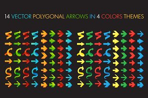Polygonal Arrows Set