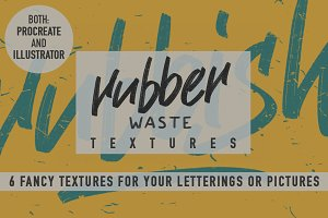 Rubber Waste Textures