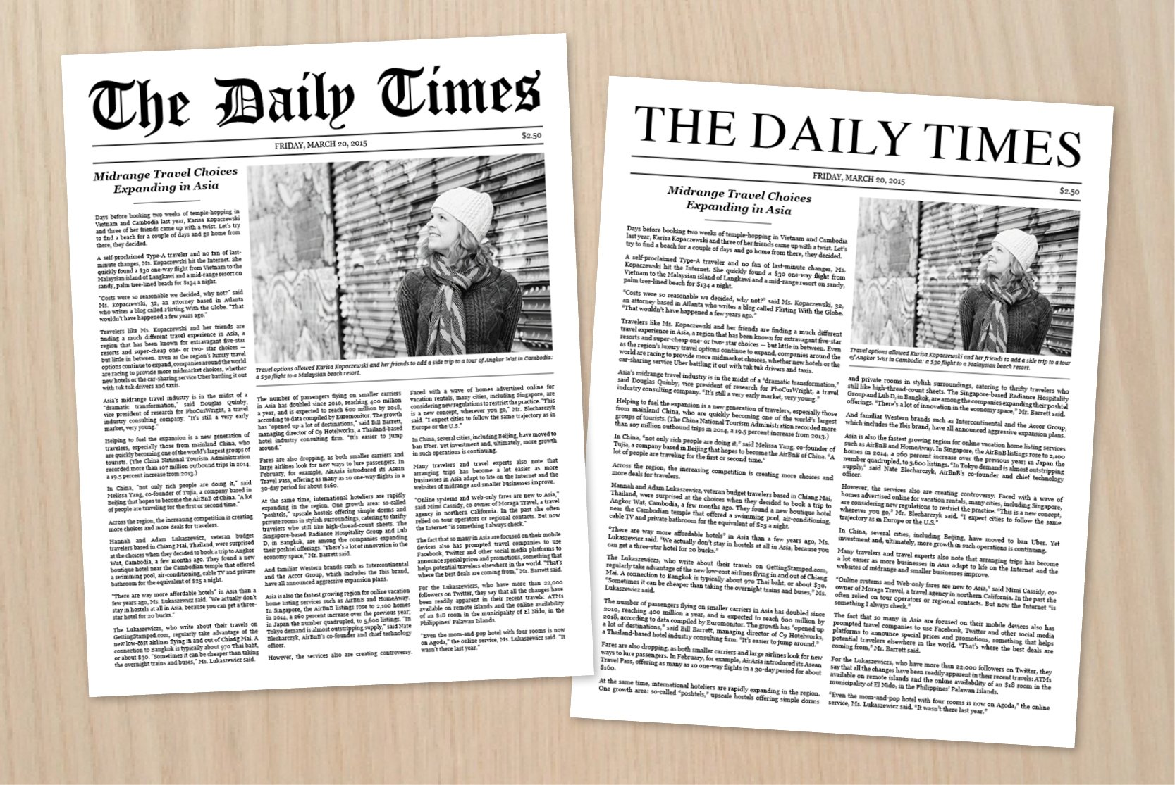 Newspaper article template stationery templates for Newspaper article template online
