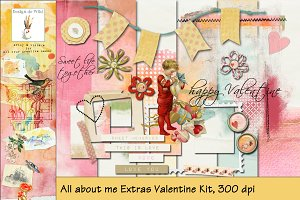 All about Me Extras Valentine