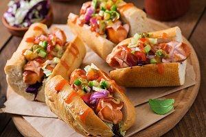 Hot dog - sandwich