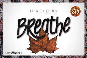 Breathe Typeface