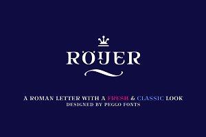 Roijer Family Font