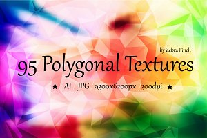 95 Polygonal backgrounds