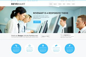 Revenant - Business PSD Template