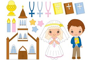 Vector First Communion Set