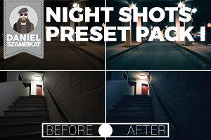 Night Shot Lightroom Preset Pack I