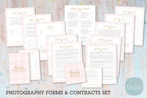 NG014 Photography Contracts & Forms