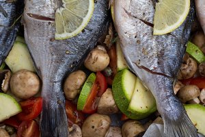 bream close-up