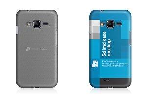 Galaxy J1 Mini Prime 3d Case Mockup