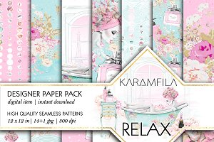 Relax Seamless Patterns