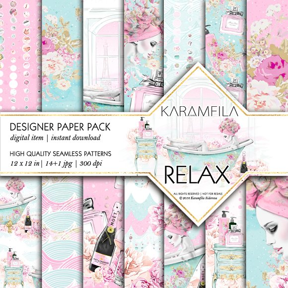 Relax Seamless Patterns