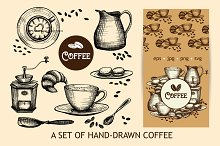 Sketch Coffee Set