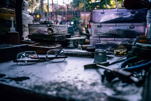 Watch Repair Stall