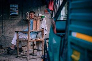 Indian Street Barber