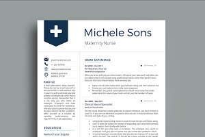 Professional Nurse Resume Template