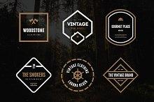 Vintage Logos & Badges Vol. 21