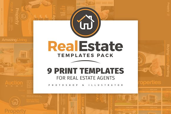 real estate brochure template pack brochure templates creative