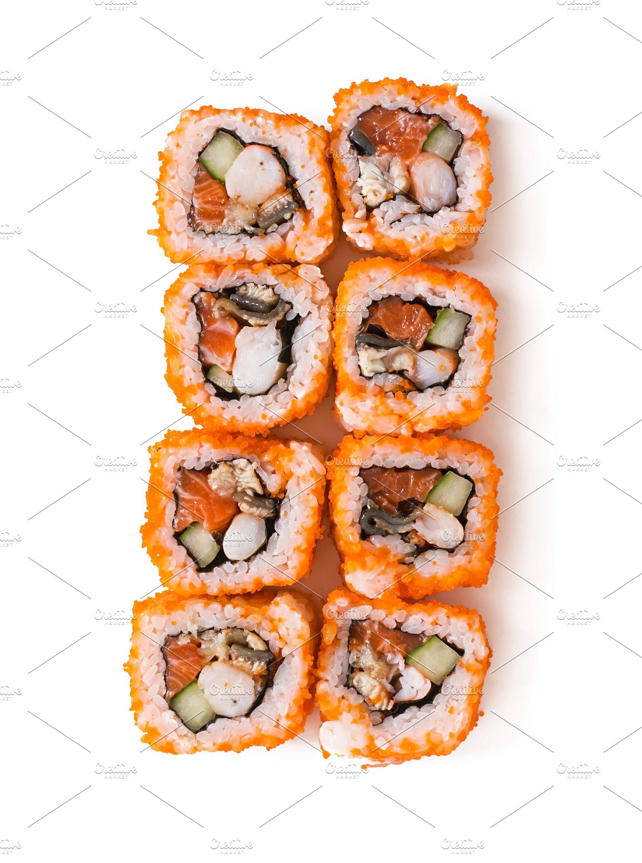 Japanese Food Sushi Rolls
