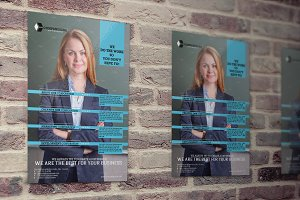 Business Corporate Flyers 3 Colors