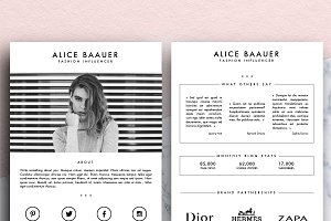 The.French.Resume ~ Creative Market