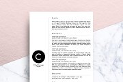 Minimalist CV (MS Word) | Cloé