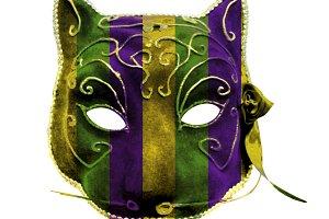 Catwoman Mardi Gras Mask