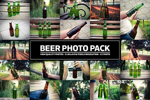 Beer Bottle Photo Pack