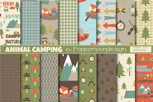 Animal camping papers