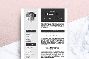 Resume Template (MS Word) | Sophie