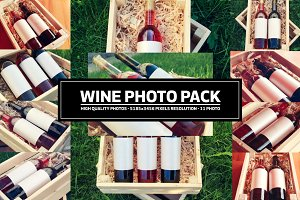 Wine Bottle Photo Pack