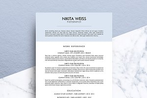 Resume / CV (MS Word) | Nikita