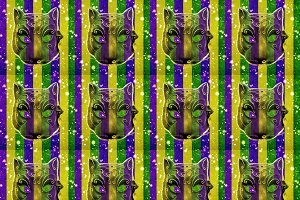 Mardi Gras Pattern