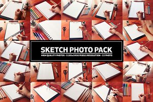 Sketchbook Photo Pack