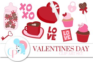Valentines Day ClipArt Set