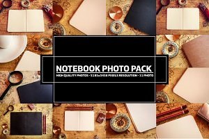 Paper Notebook Photo Pack