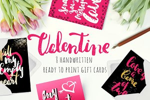 Valentine Gift Cards Collection