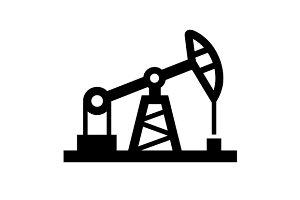 Oil Pump and Platform Icon