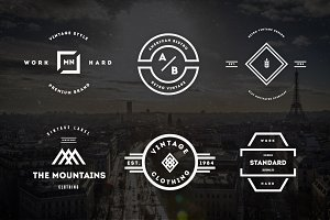 Vintage Logos & Badges Vol. 22