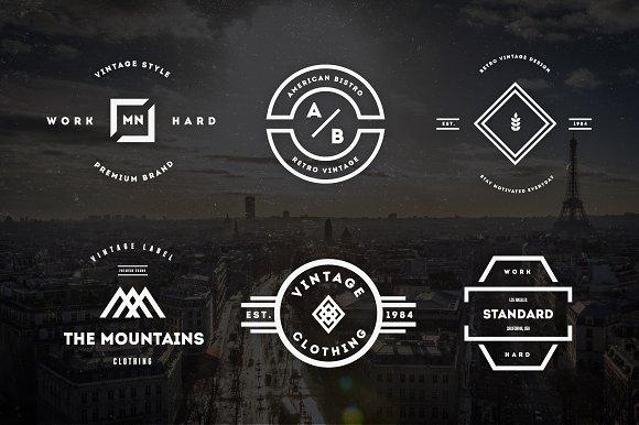 Vintage Logos & Badges Vol. 22 - Logos