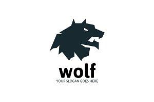 Wolf Animal Logo
