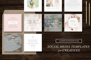 Social Media Templates - Instagram