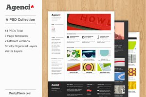 Agenci: Business/Agenci PSD Template Collection