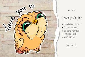 Lovely Owlet