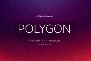 +25 Polygon Colorful Backgrounds